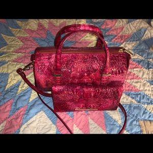 Brahmin Claire Bag & Slim wallet